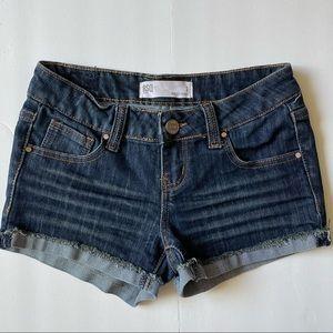Cute RSQ Blue Denim Malibu Shorts Juniors size 1